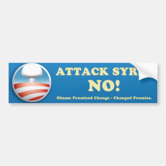 Syria Anti-War Bumper Sticker