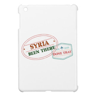 Syria Been There Done That Case For The iPad Mini