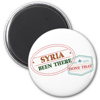 Syria Been There Done That Magnet