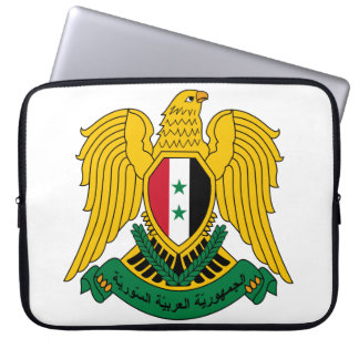 syria coat of arms computer sleeves
