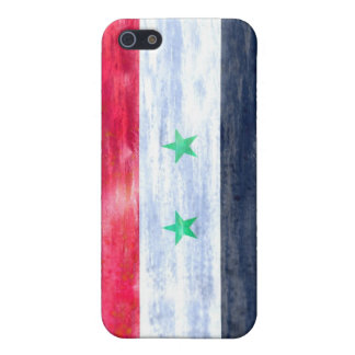 Syria distressed Syrian flag iPhone 5/5S Cover