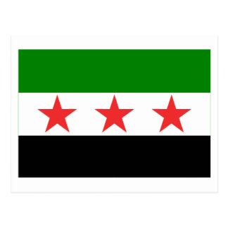 Syria Flag (1932-1958 and 1961-1963) Postcard
