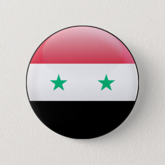 Syria Flag 6 Cm Round Badge