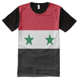 Syria Flag All-Over Print T-Shirt