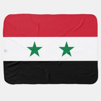 Syria Flag Baby Blanket