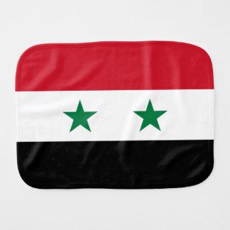 Syria Flag Baby Burp Cloth