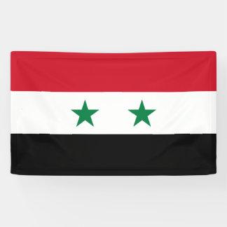 Syria Flag Banner
