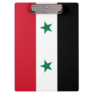 Syria Flag Clipboard