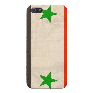 Syria Flag Distressed iPhone 4 Case