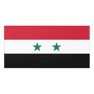 Syria Flag Door Sign