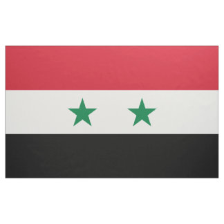Syria Flag Fabric