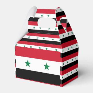 Syria Flag Favour Box