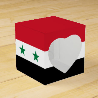 Syria Flag Favour Box