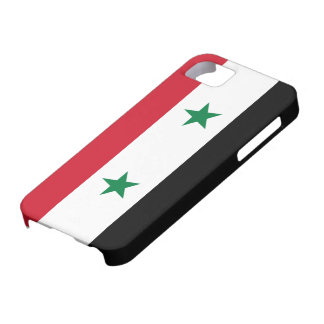 Syria Flag iPhone 5 Case