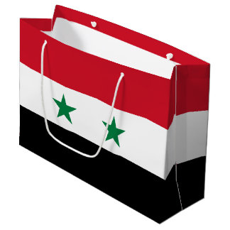 Syria Flag Large Gift Bag