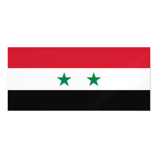 Syria Flag Magnetic Card