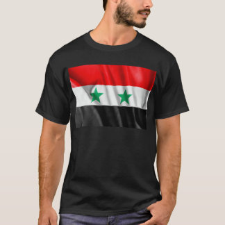 Syria Flag Mens T-Shirt