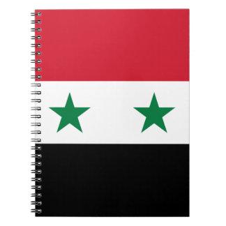 Syria Flag Notebook