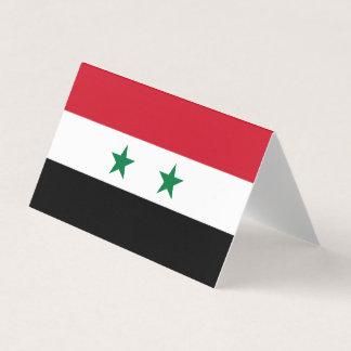 Syria Flag Place Card