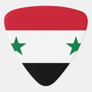 Syria Flag Plectrum