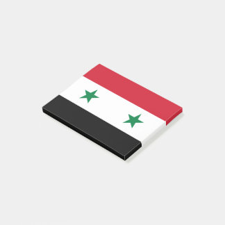 Syria Flag Post-it Notes