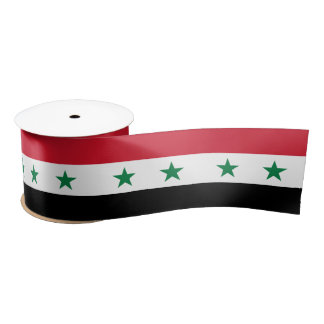 Syria Flag Satin Ribbon