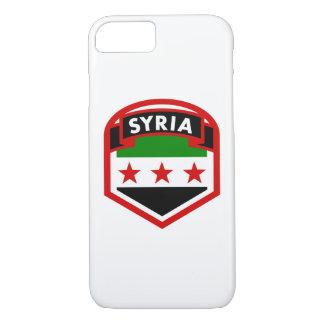 Syria Flag Shield iPhone 8/7 Case