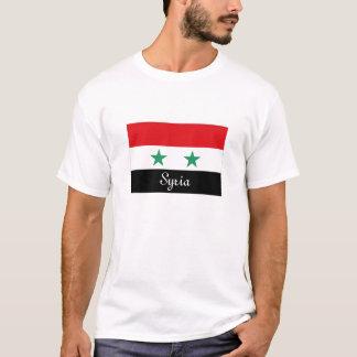Syria flag souvenir tshirt