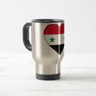 Syria Flag Travel Mug