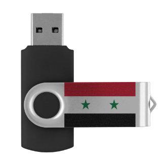 Syria Flag USB Flash Drive