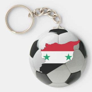 Syria football soccer key chains