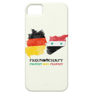 Syria Germany, friendship fruit of the escape iPhone 5 Cases