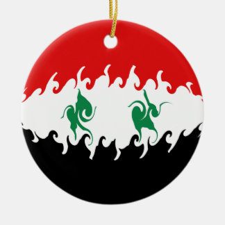 Syria Gnarly Flag Ornaments