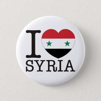 Syria Love v2 6 Cm Round Badge
