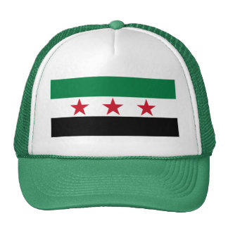 syria opposition mesh hat