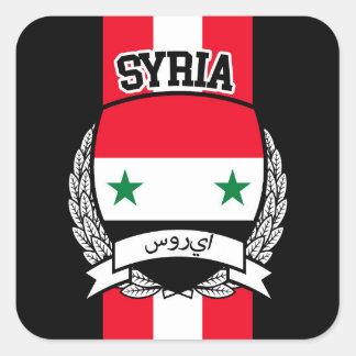 Syria Square Sticker