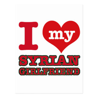 Syria wife postcard