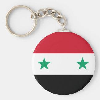 Syrian Flag Keychain