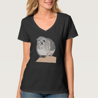Syrian  Rock  Hyrax  (Procavia capensis syriaca) T-Shirt