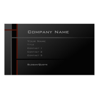 System 12 pack of standard business cards