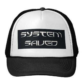 System Saved Hat