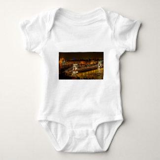 Szechenyi Chain Bridge Baby Bodysuit