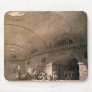 T31459 A Prison Scene, 1794 (pen & ink, wash, chal Mouse Pad