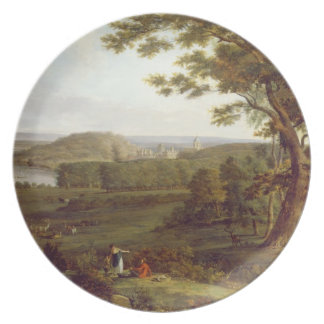 T31507 View from the North West of Castle Howard, Plate