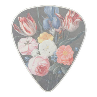 T32511 Still Life of Flowers in a Vase, 1661 (see Acetal Guitar Pick