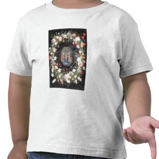 T33453 The Coronation of the Virgin surrounded by Tee Shirts