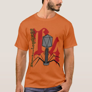 T4 Bacteriophage T-Shirt