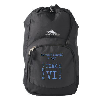 (T6) Dante Niehoff Vlogs Backpack #1