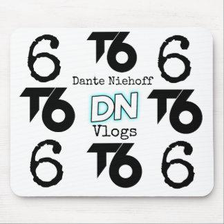 (T6) Dante Niehoff Vlogs Mouse pad