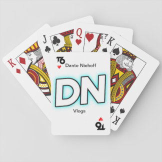 (T6) Dante Niehoff Vlogs playing card deck